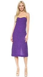 Nina Ricci Bubble Jacquard Dress Iris