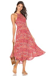 Free People Seasons In The Sun Dress Red