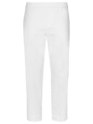 Windsmoor Crop Twill Trousers Ivory