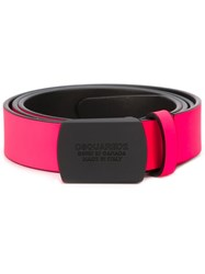 Dsquared2 Fluo Belt Pink And Purple