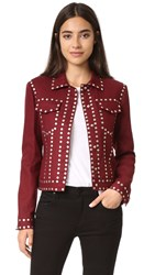 Bcbgmaxazria Patric Studded Jacket Port