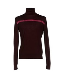 Bikkembergs Turtlenecks Maroon