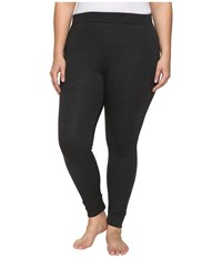 Ugg Plus Size Goldie Leggings Black Bear Heather Women's Casual Pants Gray