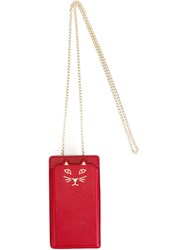 Charlotte Olympia 'Feline' Iphone 6 Case Red