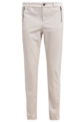 Comma Trousers Champagner Beige