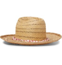 Visvim Straw Hat Red