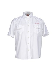 Franklin And Marshall Shirts White