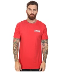 O'neill Mash Tee Bright Red Men's T Shirt