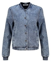 Noisy May Nmlesley Denim Jacket Medium Blue Denim