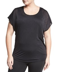 Soybu Plus Camryn Dolman Sleeve Tee Black