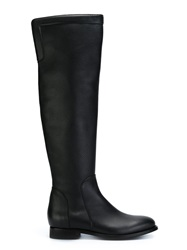 Ermanno Scervino Thigh High Boots Black