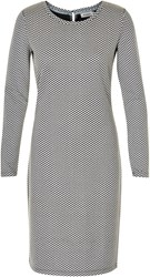 Soaked In Luxury Slim Fit Jersey Dress Multi Coloured Multi Coloured