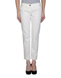 Elisabetta Franchi Trousers Casual Trousers Women Ivory