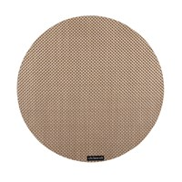 Chilewich Basketweave Round Placemat New Gold