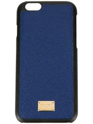 Dolce And Gabbana Textured Iphone 6 Case Blue