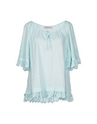 Red Soul Blouses Turquoise