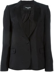 Zadig And Voltaire 'Victor' Suit Jacket Black