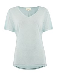 Linea Shimmer Overdyed Tee Mint