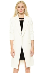 Milly Cleo Coat White