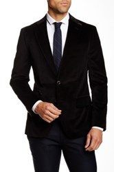 Robert Graham Wragby Two Button Notch Lapel Sportcoat Black