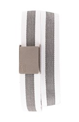 Men's Nike Reversible Web Belt White Stripe