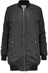 W118 By Walter Baker Talia Quilted Shell Bomber Jacket Black