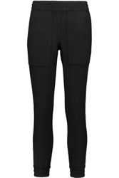 Nlst Wool And Cashmere Blend Sweatpants Black