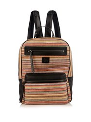 Christian Louboutin Aliosha Woven Leather Backpack