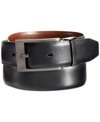 Perry Ellis Big And Tall Zeus Etched Buckle Belt