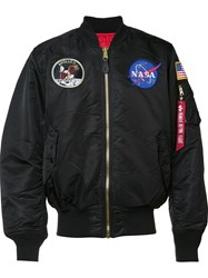 Alpha Industries 'Apollo Ma 1' Flight Jacket Black