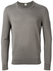 Massimo Alba Crew Neck Sweater Grey