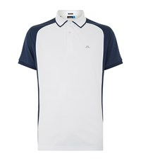 J. Lindeberg J.Lindeberg Fredrick Golf Polo Shirt Male White