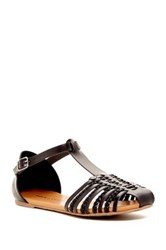 Rock And Candy Harlyn Braided Sandal Black