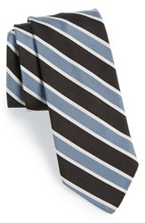 Men's Todd Snyder White Label Silk And Cotton Tie Black