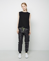 Alexander Wang Quilted Nylon Track Pant Black