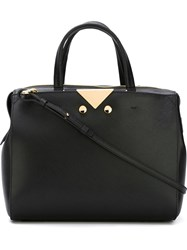 Emporio Armani Top Handle Bag Black