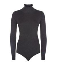 Claudie Pierlot Shimmer Body Suit Female Black