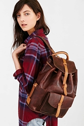 Will Leather Goods Rainier Backpack Brown