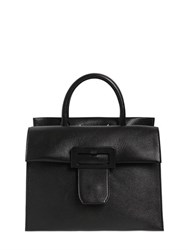 Maison Martin Margiela Large Buckle Leather Top Handle Bag