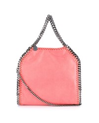 Stella Mccartney Falabella Chain Bag Coral Pink Light Pink Silver