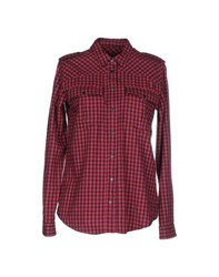 M.Grifoni Denim Shirts Shirts Women Fuchsia