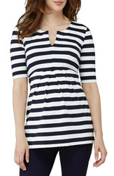 Isabella Oliver Women's 'Baywood' Stripe Maternity Top