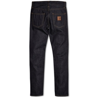 Carhartt Klondike Ii Pant Blue Rigid Edgewood Denim