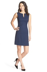 Marc New York Woven Fit And Flare Dress Electric Blue