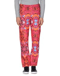 Pharmacy Industry Trousers Casual Trousers Men Fuchsia