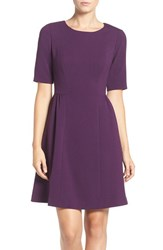 Vince Camuto Women's Crepe Fit And Flare Dress