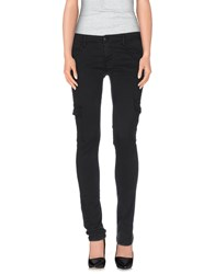 Met And Friends Denim Denim Trousers Women Black