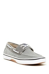 Sperry Halyard Boat Shoe Gray