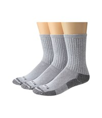 Carhartt Cotton Crew Work Socks 3 Pack Gray Men's Crew Cut Socks Shoes