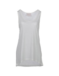 Crumpet Sleeveless T Shirts Dove Grey